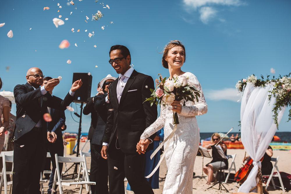 Romantyczny ślub w plenerze