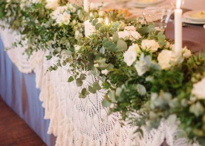 Boho dekoracje na weselu