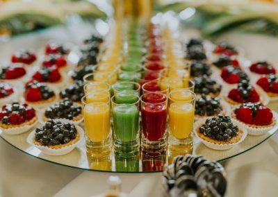 Słodki bufet w kolorach jesieni