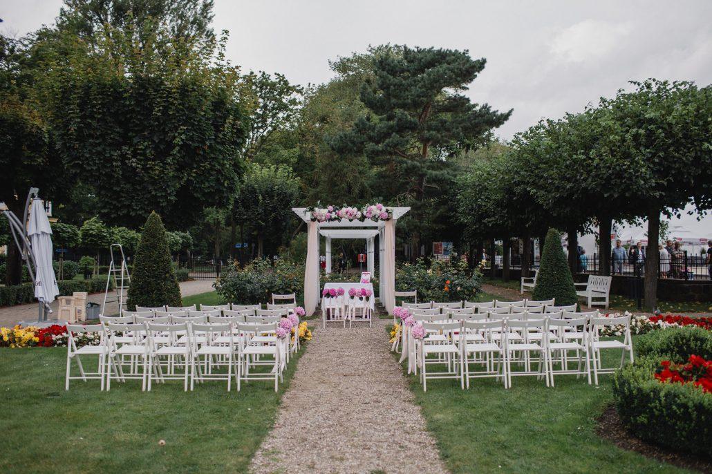 ceremonia ślubu - plener