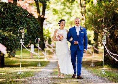 Dekoracja miejsca zaślubin