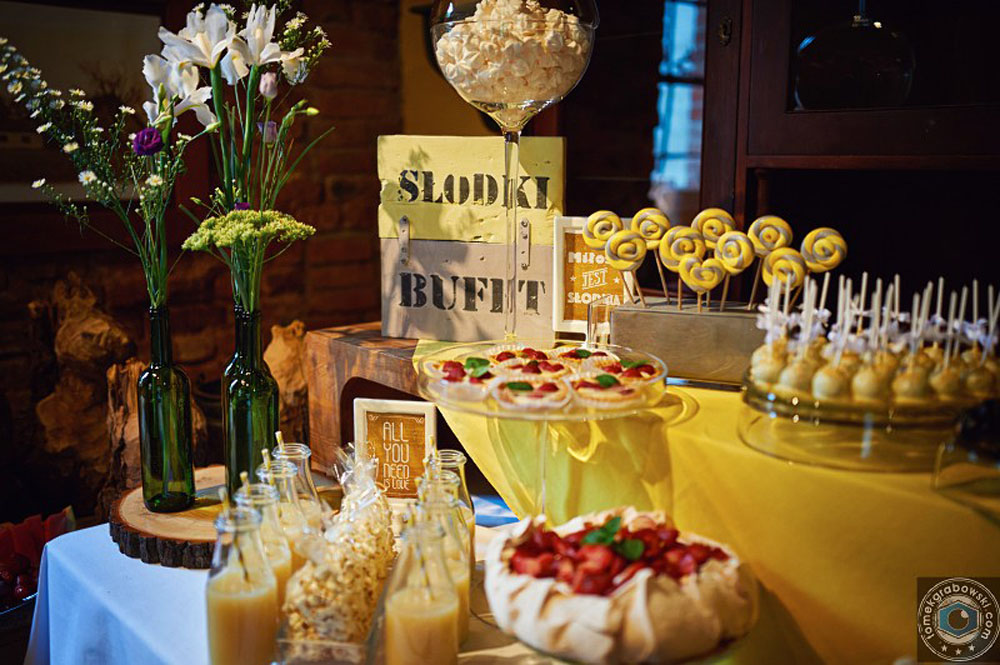 Słodki bufet wesele