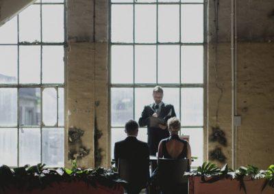 ślub w stylu industrialnym