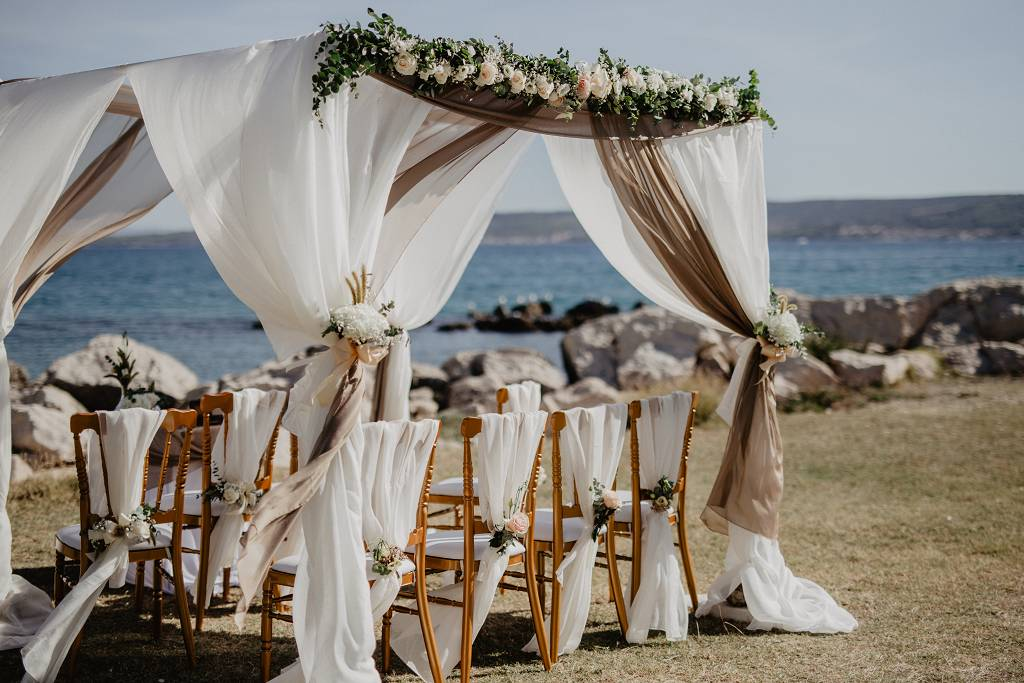 Ślub wgorącej Chorwacji