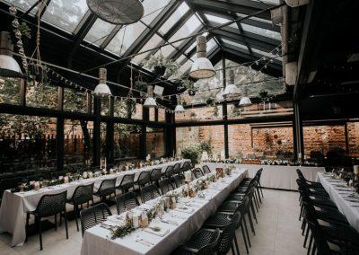 klimatyczna sala weselna